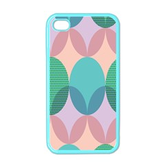 Circle Flower Apple Iphone 4 Case (color) by Jojostore