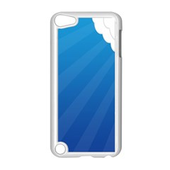 Clouds Blue Sky Apple Ipod Touch 5 Case (white) by Jojostore