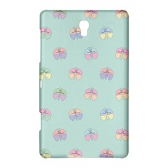 Butterfly Pastel Insect Green Samsung Galaxy Tab S (8 4 ) Hardshell Case  by Nexatart