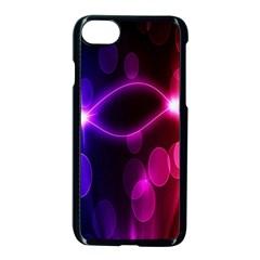 Circle Color Apple iPhone 7 Seamless Case (Black) by Jojostore