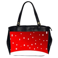 Christmas Background  Office Handbags (2 Sides)  by Nexatart