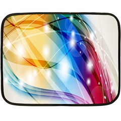 Colour Abstract Double Sided Fleece Blanket (Mini)
