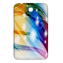 Colour Abstract Samsung Galaxy Tab 3 (7 ) P3200 Hardshell Case  by Nexatart