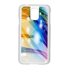 Colour Abstract Samsung Galaxy S5 Case (white) by Nexatart