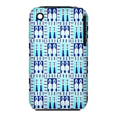 Egyptianpattern Colour Blue Iphone 3s/3gs by Jojostore
