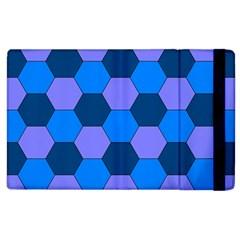 Four Colour Theorem Blue Grey Apple Ipad 3/4 Flip Case by Jojostore