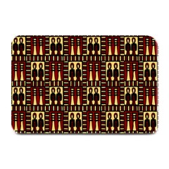 Egyptianpattern Colour Red Plate Mats by Jojostore