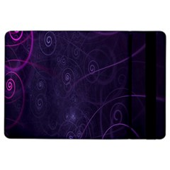 Purple Abstract Spiral Ipad Air 2 Flip by Jojostore
