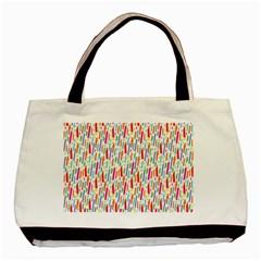 Splash Pattern Color Sign Basic Tote Bag by Jojostore
