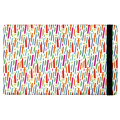 Splash Pattern Color Sign Apple Ipad 3/4 Flip Case by Jojostore