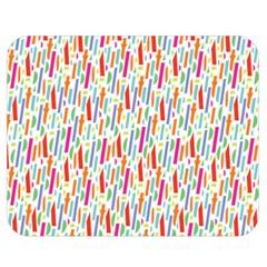 Splash Pattern Color Sign Double Sided Flano Blanket (medium)  by Jojostore