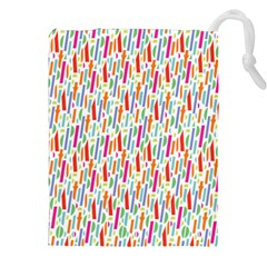 Splash Pattern Color Sign Drawstring Pouches (xxl) by Jojostore