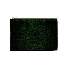 Leaves Dark Cosmetic Bag (medium)  by Jojostore