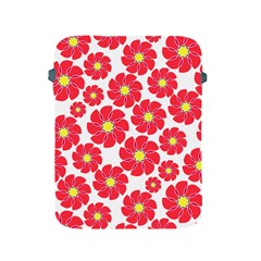 Seamless Floral Flower Red Fan Red Rose Apple iPad 2/3/4 Protective Soft Cases by Jojostore