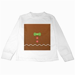 Stunning Gingerbread Brown Bread Kids Long Sleeve T Shirts by Jojostore