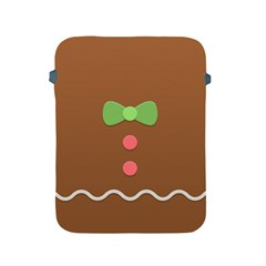 Stunning Gingerbread Brown Bread Apple Ipad 2/3/4 Protective Soft Cases by Jojostore