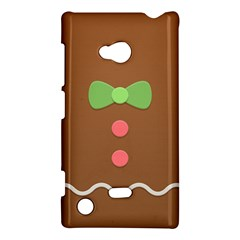 Stunning Gingerbread Brown Bread Nokia Lumia 720 by Jojostore