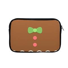 Stunning Gingerbread Brown Bread Apple Macbook Pro 13  Zipper Case by Jojostore