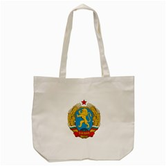 Coat Of Arms Of Bulgaria (1948 1968) Tote Bag (cream) by abbeyz71