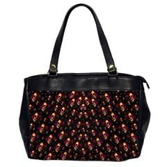 Skulls In The Dark Night Office Handbags (2 Sides)  by pepitasart