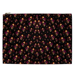 Skulls In The Dark Night Cosmetic Bag (xxl)  by pepitasart