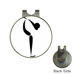Figure Skating Pictogram Hat Clips With Golf Markers by abbeyz71
