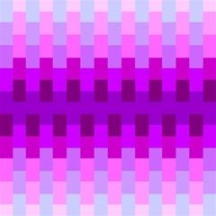 Geometric Cubes Pink Purple Blue Magic Photo Cubes by Nexatart