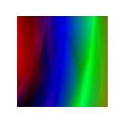 Graphics Gradient Colors Texture Small Satin Scarf (square) by Nexatart