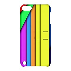 More Color Abstract Pattern Apple Ipod Touch 5 Hardshell Case With Stand by Nexatart