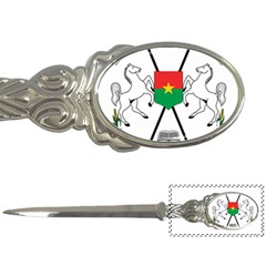Coat of Arms of Burkina Faso Letter Openers by abbeyz71