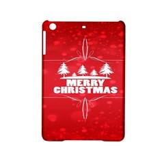Red Bokeh Christmas Background iPad Mini 2 Hardshell Cases by Nexatart
