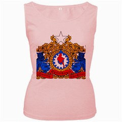 State Seal Of Burma, 1974 2008 Women s Pink Tank Top by abbeyz71