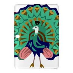 Burma Green Peacock National Symbol  Samsung Galaxy Tab Pro 12 2 Hardshell Case by abbeyz71