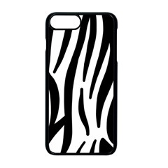 Seamless Zebra Pattern Apple Iphone 7 Plus Seamless Case (black) by Nexatart