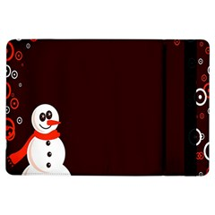 Snowman Holidays, Occasions, Christmas Ipad Air Flip by Nexatart
