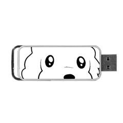 Coton De Tulear 2 Sided Head Portable USB Flash (One Side) by TailWags
