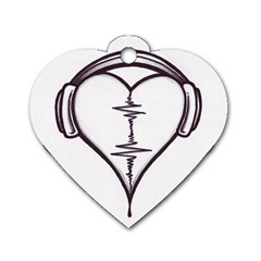 Audio Heart Tattoo Design By Pointofyou Heart Tattoo Designs Home R6jk1a Clipart Dog Tag Heart (two Sides) by Foxymomma