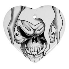 B2e491cb6324ce3c609b69cf26f022e4 Heart Ornament (Two Sides) by Foxymomma