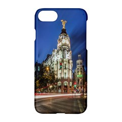 Architecture Building Exterior Buildings City Apple iPhone 7 Hardshell Case by Nexatart