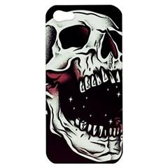 Death Skull Apple Iphone 5 Hardshell Case by Nexatart