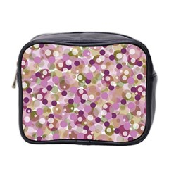 Colorful Bubbles Mini Toiletries Bag 2 Side by Valentinaart