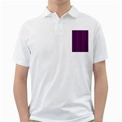 Deep Purple Lines Golf Shirts by Valentinaart