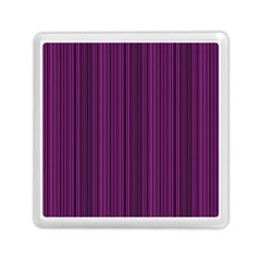 Deep Purple Lines Memory Card Reader (square)  by Valentinaart