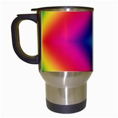 Hippie  Travel Mugs (white) by Valentinaart