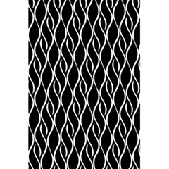 Elegant Black And White Pattern 5 5  X 8 5  Notebooks by Valentinaart