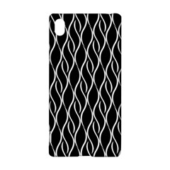 Elegant black and white pattern Sony Xperia Z3+ by Valentinaart