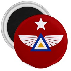 Emblem Of The Myanmar Air Force 3  Magnets by abbeyz71