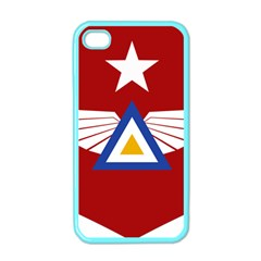 Emblem of The Myanmar Air Force Apple iPhone 4 Case (Color)