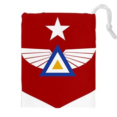 Emblem Of The Myanmar Air Force Drawstring Pouches (xxl) by abbeyz71