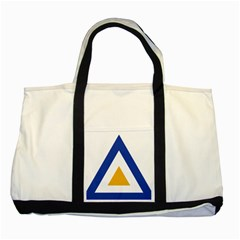 Roundel Of The Myanmar Air Force Two Tone Tote Bag by abbeyz71